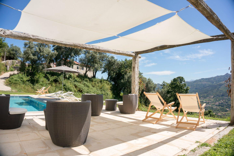 Quinta Olivia Zwembad met terras